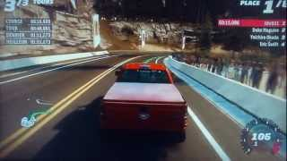 GAMEPLAY FORZA HORIZON XBOX 360 FORD F-150 SVT RAPTOR COURSE 5