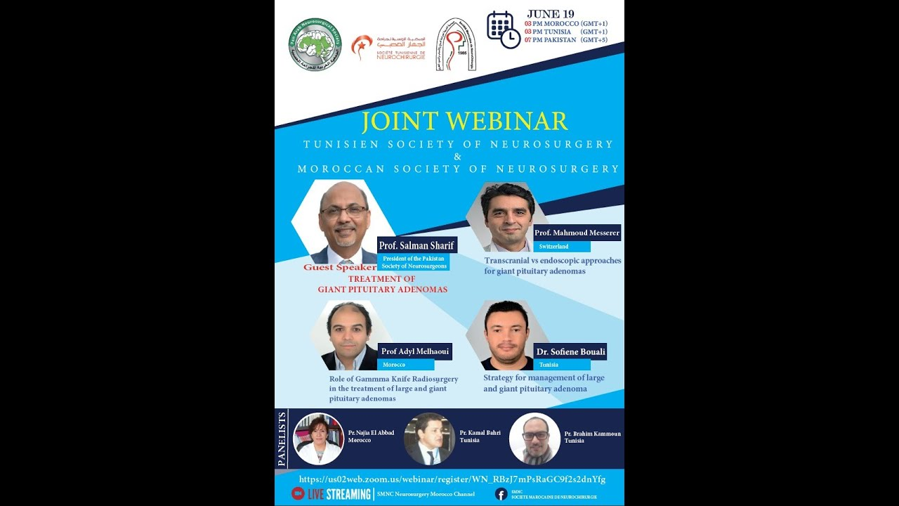 Download Joint Webinar of the Moroccan and Tunisian Neurosurgical Societies (WB09)