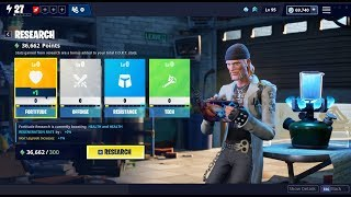 New Interface Save the World Explanation quickly and easily Fortnite Goodbye Tree Skill