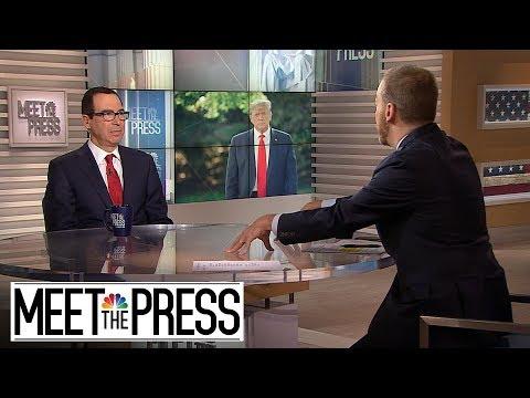 Full Mnuchin: Call With Ukrainian President Should Be 'Confidential' | Meet The Press | NBC News