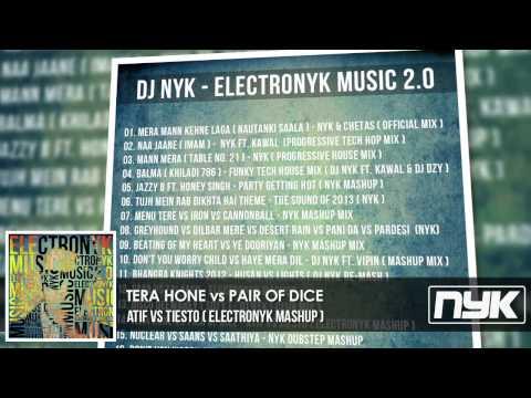 TERA HONE vs PAIR OF DICE - ATIF vs TIESTO ( DJ NYK MASHUP )