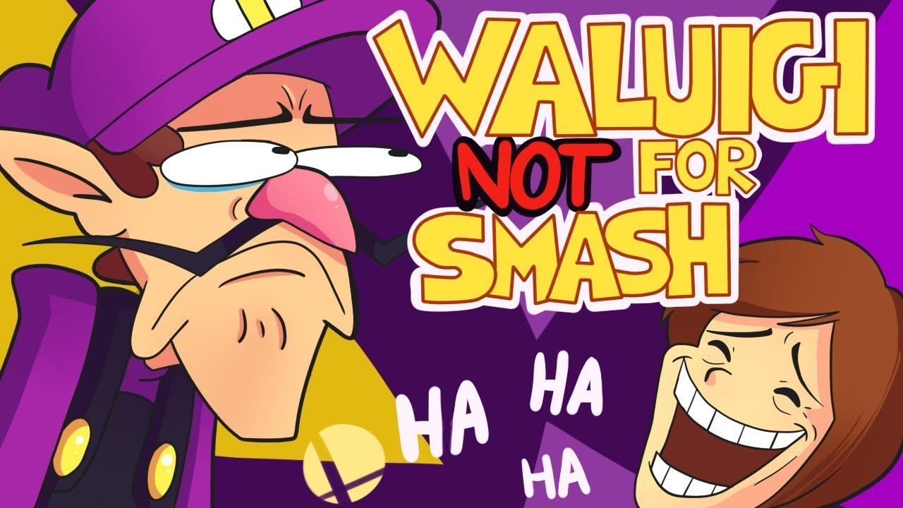 Waluigi NOT For Smash Animation