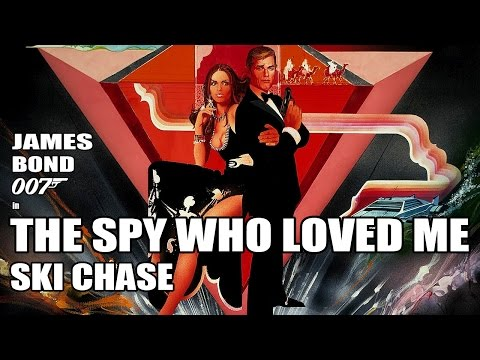 The Spy Who Loved Me - Ski Chase