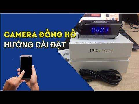 Hướng Dẫn Cài đặt Camera Wifi đồng Hồ để Bàn   Sử Dụng Camera Ngụy Trang đồng Hồ
