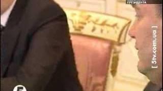 Янукович свариться з Тимошенко на прийомі у Ющенка