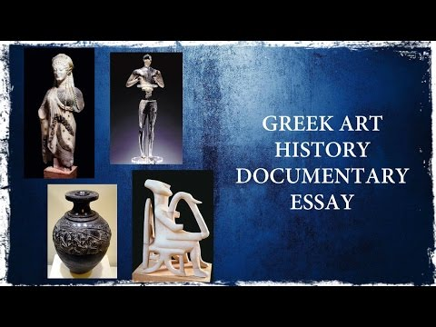 Travel through Ancient Greek Art History Essay
