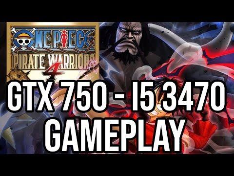 One Piece: Pirate Warriors 4 Gameplay on | GTX 750 1GB - i5 3470 | |