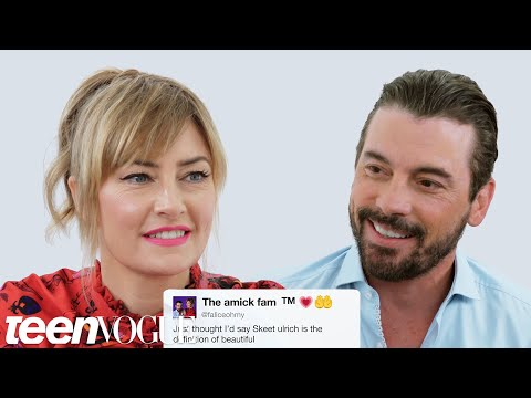 Riverdale&39;s Skeet Ulrich and Mädchen Amick Compete in a Compliment Battle  Teen Vogue