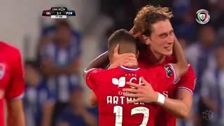 Goal   Golo Kraev: Gil Vicente (2)-1 FC Porto (Liga 19/20 #1)