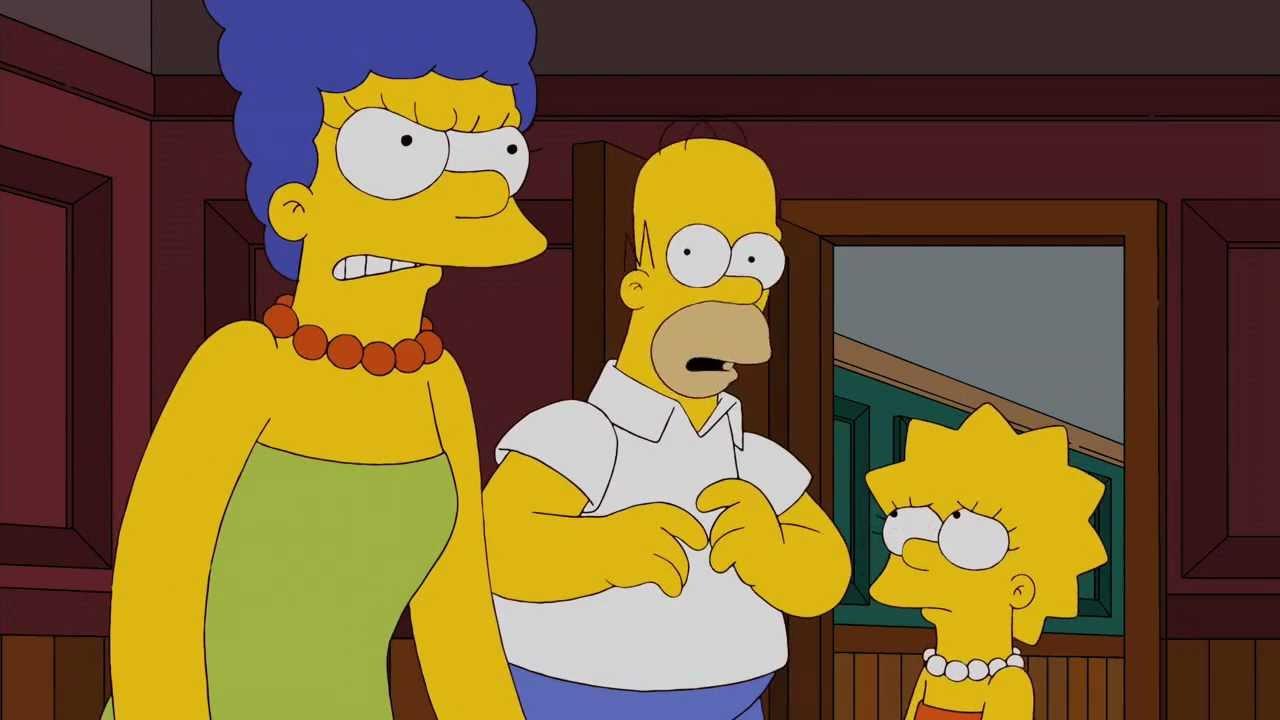 Marge Se Enoja- Los Simpsons - Youtube-8570
