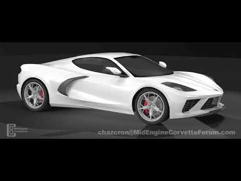 2020 Corvette C8 360º Spin - YouTube