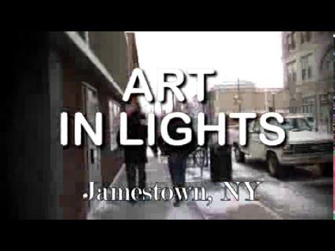 ArtPlace - Art In Lights - Jamestown, NY