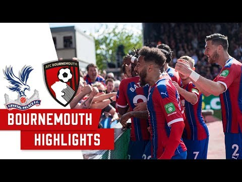 Crystal Palace 5 -3 Bournemouth | 2 Minute Highlights