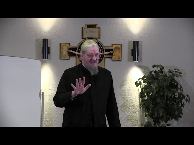 Fr John Behr LPH 2019 Advent Retreat 03 It is Finished
