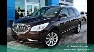 2015 Buick Enclave Premium with All Wheel Drive!