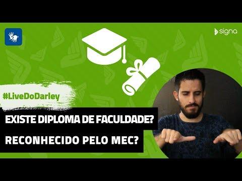 Existe diploma de faculdade de CorelDRAW? Reconhecido pelo MEC? | #LiveDoDarley | #SignaEdu
