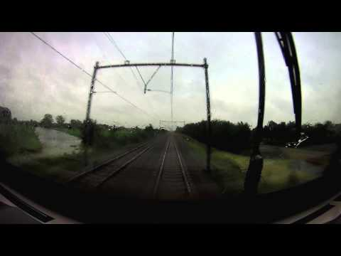 Cabride Utrecht - Den Haag severe weather (part 1)