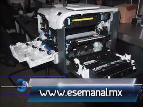 Laboratorio Hp Laserjet 500 M551 Esemanal Youtube