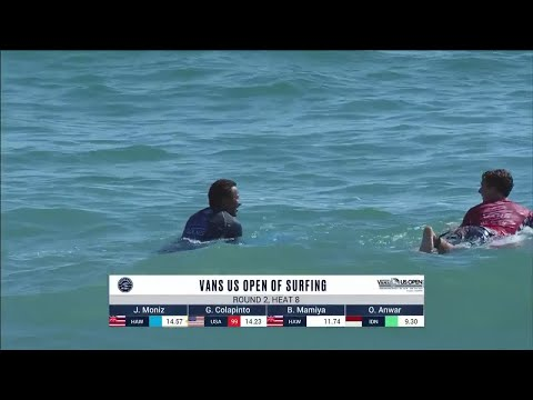 Vans US Open Of Surfing - Men's, Men's Qualifying Series - Round 2 Heat 8