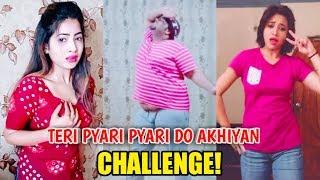 Teri Pyari Pyari Do Akhiyan Challenge Video   অস্থির মজার ভিডিও   না দেখলে চরম মিস