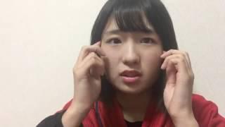 161022 谷 優里(AKB48 チーム8) SHOWROOM.