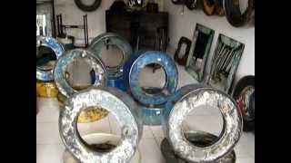 Recycled Metal Stuff / Furniture Recycled Oil Drums