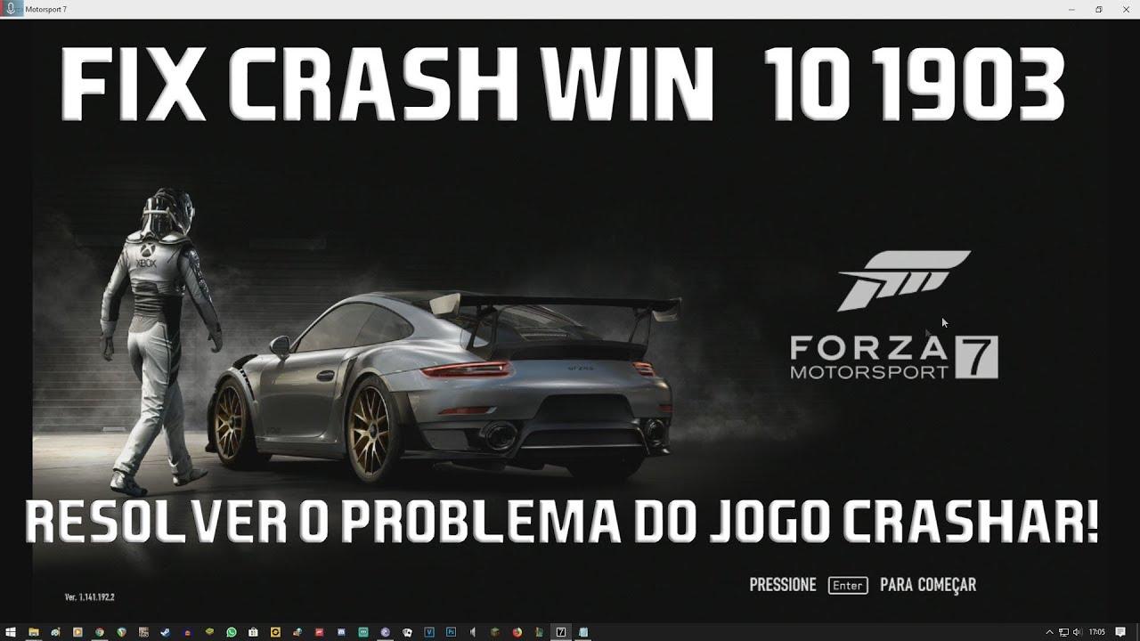 Forza Motorsport 7 FIX crash | Crack CODEX 1902 (2019) Resolver problema do  jogo fechar!