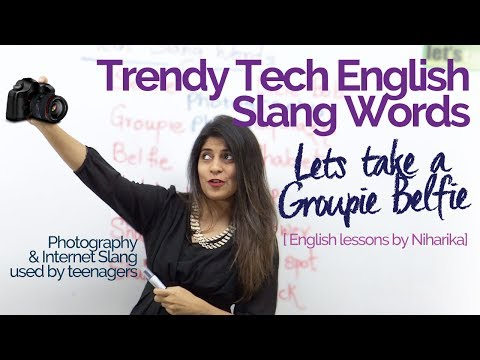 English Lesson to learn Tech Slang Words used in English speaking (Practice English Vocabulary)