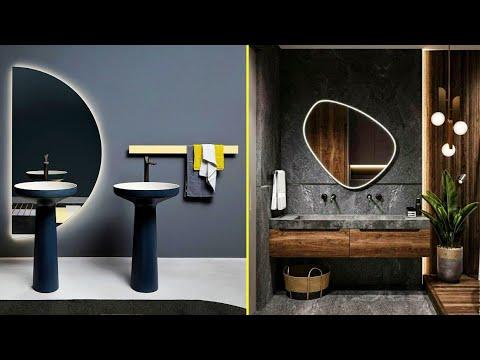 150 Modern Bathroom Mirror Design Ideas, Bathroom Mirror Design Image