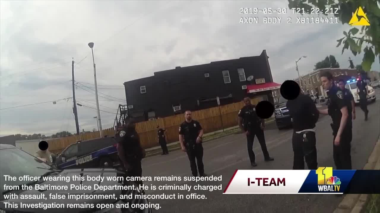 Baltimore Police Department Release Video Cam After Arrest of Sergeant