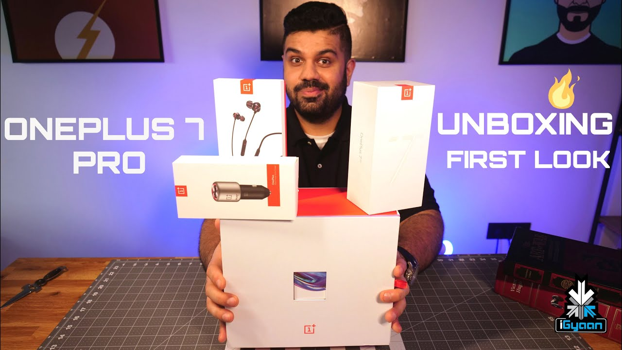Download OnePlus 7 Pro, Bullets 2 Wireless Detailed Unboxing And Hands On