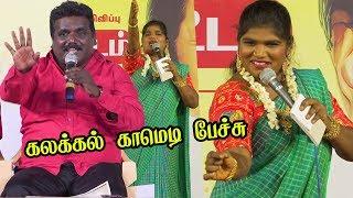 திமுக நிகழ்ச்சியில் Tamilisaiயை மரண கலாய் கலாய்த்த Aranthangi Nisha | Comedy Pattimandram latest