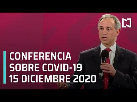 Conferencia Covid-19 en México - 15 diciembre 2020