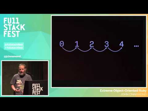 Full Stack Fest 2015: Extreme Object-Oriented Ruby, by John Cinnamond