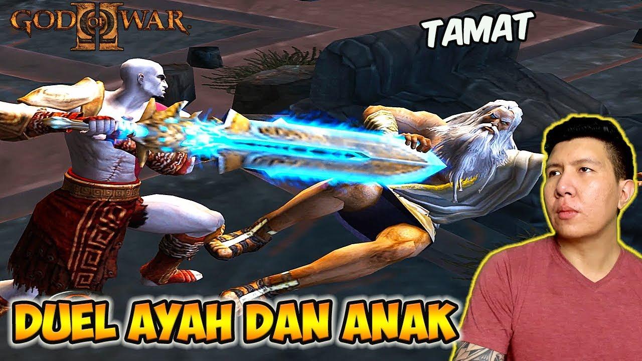 Kratos Melawan Zeus - God of War 2