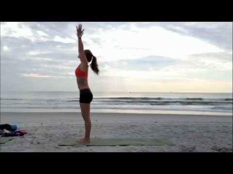 surya namaskara a  sun salutationm4v  youtube