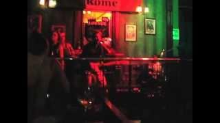 The band Road 66 in Scholars Lounge Irish pub