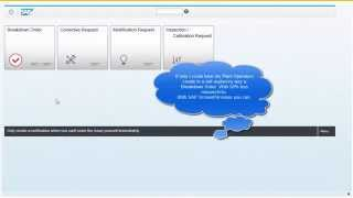 SAP Screen Personas Plant Maintenance (Fiori style