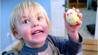 HAPPY BABY EASTER EGGS!