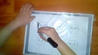 Методика Буквограмма учимся писать букву И. Рисуем каляки боляки