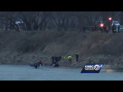 Toni Anderson's vehicle pulled from Missouri River