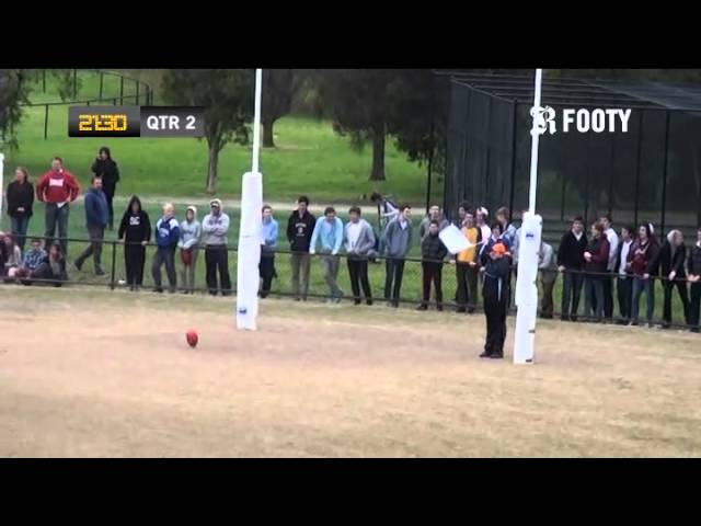 2012 SMJFL Grand Final Under 17 Div 1 - Cheltenham v Beaumaris Sharks