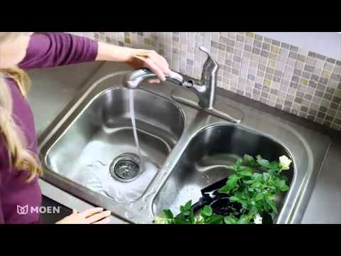 Renzo™ Pullout Kitchen Faucet | Moen Features Spotlight - YouTube