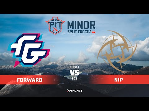 Forward Gaming vs Ninjas in Pyjamas (карта 1), OGA Dota PIT Minor 2019,   Групповой этап