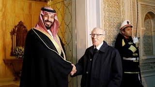 ولي العهد السعودي يقول للتلفزيون التونسي إن العلاقات بين المملكة وتونس جيدة…