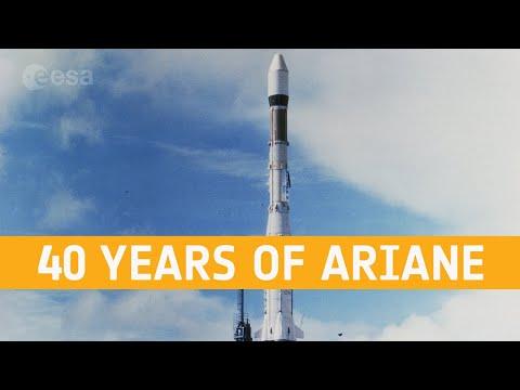 40 years of Ariane