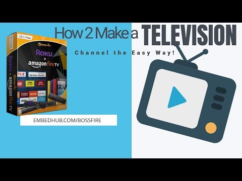 How To Make Your Own TV Channel on Roku & Amazon Firestick. http://bit.ly/2PlLNR0