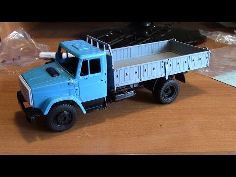 Сборка масштабной модели грузовика ЗиЛ 4331 АВД