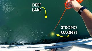 Download What Will My Giant Magnet Pull From Deep Lake? Mp3 and Videos