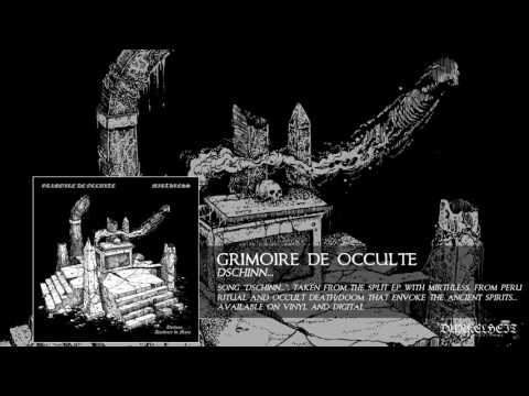 Grimoire De Occulte - Dschinn... (From the new Split EP with MIRTHLESS)